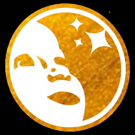 Goldkind Logo Köpfchen