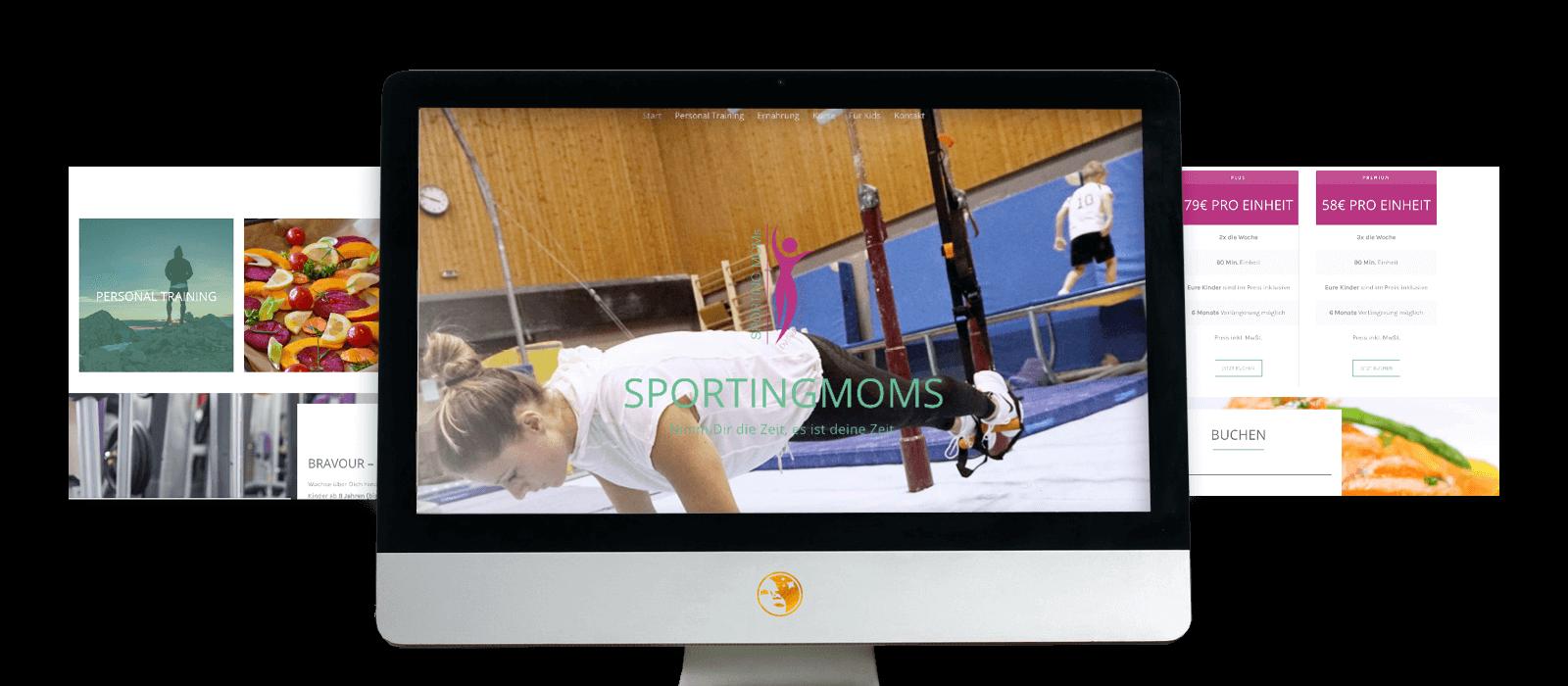 SportingMoms Referenzen Agentur Goldkind